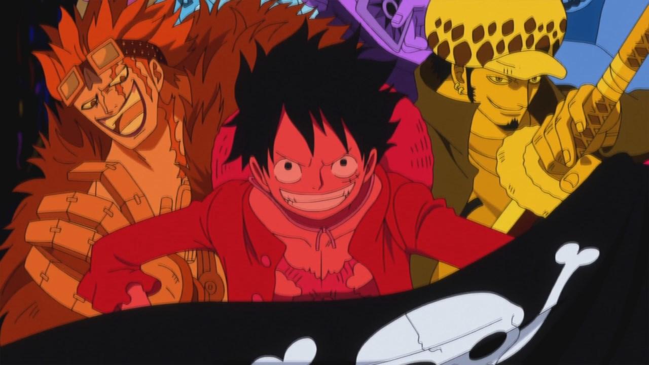 One Piece 736, Скачать Ван Пис 736, Большой Куш 736