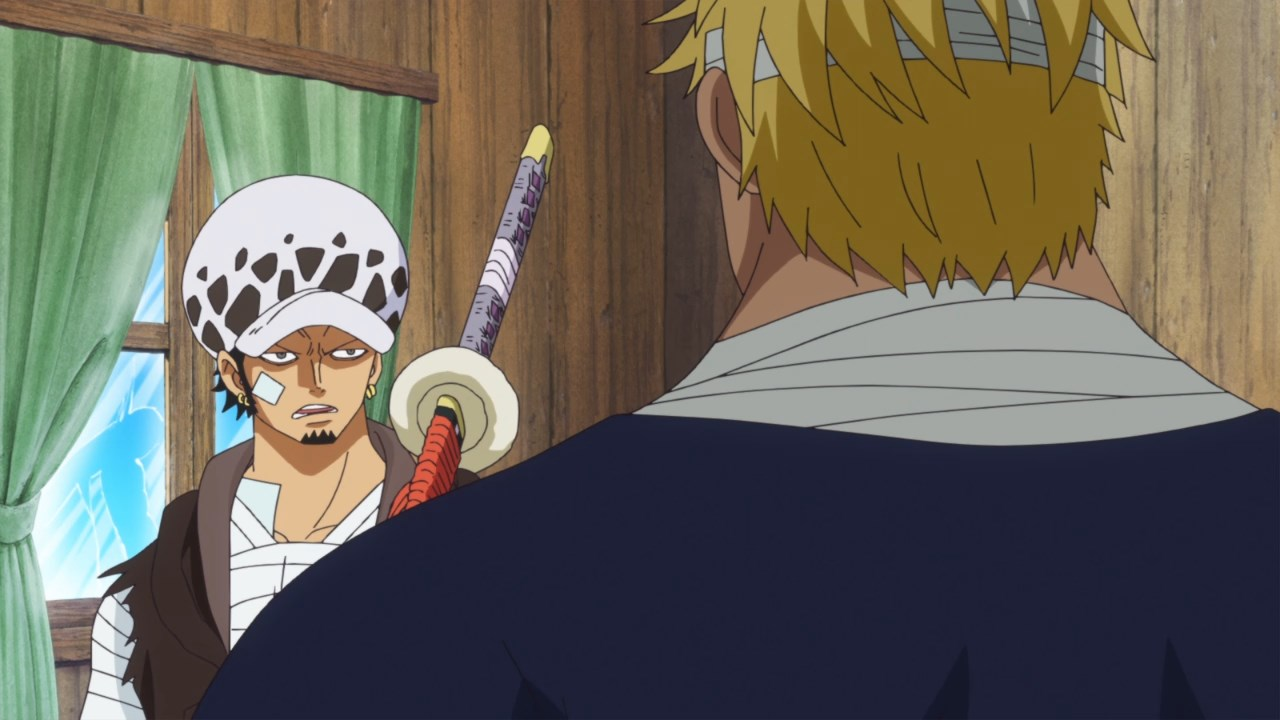 One Piece 741, Скачать Ван Пис 741, Большой Куш 741