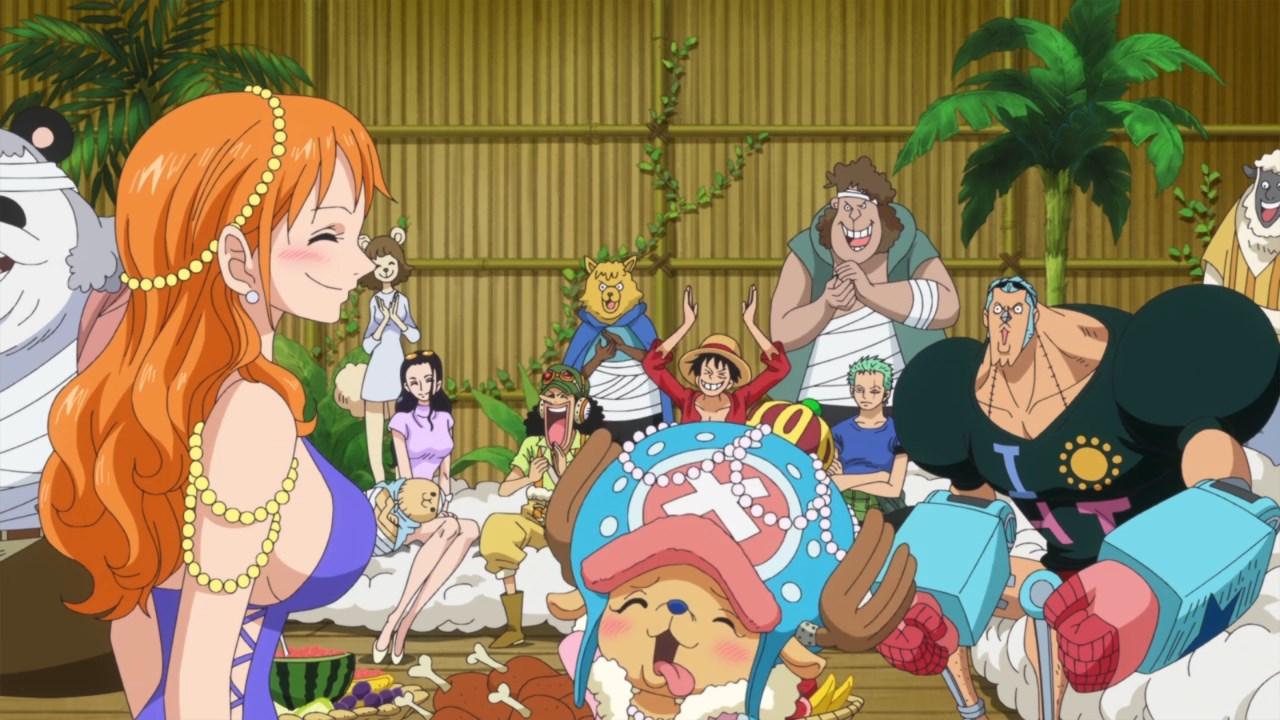 One Piece 756, Скачать Ван Пис 756 ,Большой Куш 756