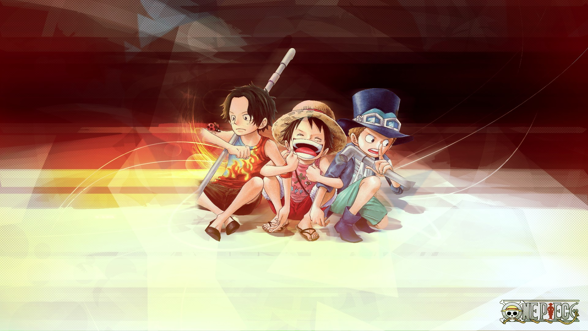 ace and luffy fighting wallpaper - photo #40